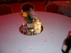 Home made table centre
