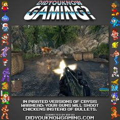 Chicken bullets in pirated version of Crysis Warhead