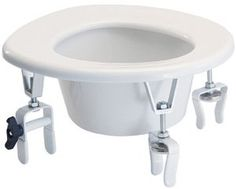 Lumex Versa Height Raised Toilet Seat 2 rear locking brackets QTY 1 *** This is an Amazon Associate's Pin. Locate the item on Amazon website simply by clicking the image.