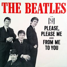 Original Beatles 45s | ... sleeve for Vee Jay 581, a 1964 re-issue of the Please Please Me 45