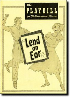 December 16, 1948: LEND AN EAR, starring Carol Channing, opens at the National Theatre