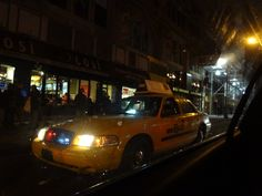 NYC Undercover Police Car Taxi