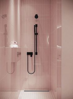 32 Small Bathroom Design Ideas for Every Taste - The Trending House One Room Apartment, Apartment Goals, Men Apartment, Apartment Living, Pink Baths, Ideas Hogar, Small Bathroom Storage, Room Tiles, Cool Apartments