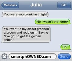 Drunk - Other - Autocorrect Fails and Funny Text Messages - SmartphOWNED