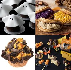 SWEET HALLOWEEN❤ 絶対食べたいハロウィン限定スウィーツ特集 Kawaii, Sweets, Desserts, Deserts, Good Stocking Stuffers, Cute, Goodies, Dessert, Candy