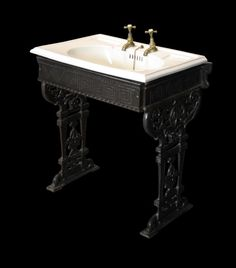 RARE ENGLISH BARBER SHOP WASH BASIN / SINK BY ELEGAN 1918 - UK ...