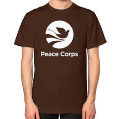 PEACE CORPS Unisex T-Shirt (on man)
