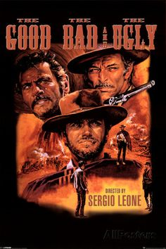 Três Homens em Conflito  posters  muito bom esse filme..