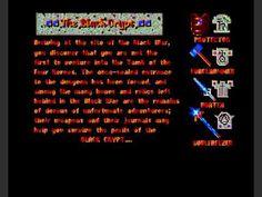 BLACK CRYPT gameplay (Amiga) part 1