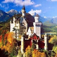 Ludwig II's grandest creation, Neuschwanstein Castle, was not designed for royal representation, but as a place of retreat. Here Ludwig II escaped into a dream world – the poetic world of the Middle Ages - and scenes of chivalry and swans are featured throughout. It is the most romantic castle I have ever visited - Walt Disney based Cinderella's castle on this.