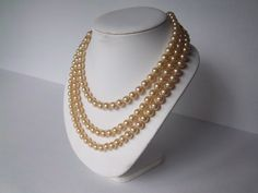Pearl+beaded+long+necklace+Great+Gatsby+by+FoxTailCollections,+$10.00