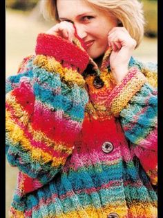 for all the grey days of our lives...lots of colour Free Noro Pattern (Y-705)