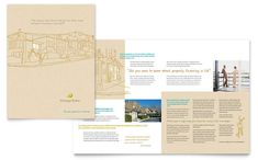 Mortgage Broker Brochure Template Design by StockLayouts