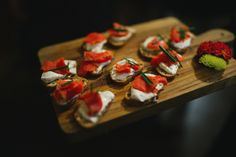 Smoked Wild Salmon Crostini with a horseradish-dill cream cheese. Ravishing Radish Catering | Roland Hale Photography