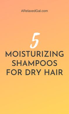 If you have dry relaxed hair check out this list of the top 5 moisturizing shampoos for relaxed hair. | A Relaxed Gal Natural Hair Regimen, Natural Hair Growth, Natural Hair Styles, Relaxed Hair Journey, Natural Hair Journey, Homemade Shampoo Recipes, Best Hair Care Products, Beauty Products, Tips For Oily Skin