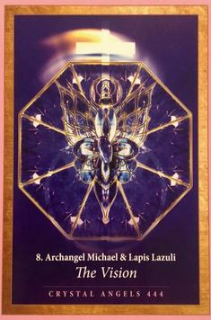 Daily Angel Oracle Card: Archangel Michael and Lapis Lazuli, from the Crystal Mandala Oracle Card deck, by Alana Fairchild, artwork by Jane Marin, published by Blue Angel Archangel Michael and Lapi… Raphael Angel, Archangel Raphael, Angel 444, Crystal Mandala, Angel Guidance, Oracle Tarot, Principles Of Art, Angel Cards, Orthodox Icons