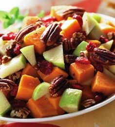 Sweet Potato Salad!  Perfect for Labor Day!
