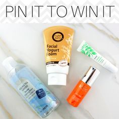 PIN IT TO WIN IT! Enter to win this Ready For My Close Up Skincare Set:  1. Follow us on Pinterest 2. Repin this photo 3. Comment on this photo the city you'd like to travel to most! 4. That's it! You're now entered to win this gift set  Giveaway ends 4/8