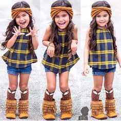 @aleyariley wearing her cool boots @gracious_may #postmyfashionkid #fashionkids