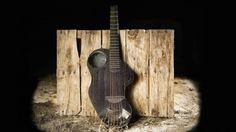 Alpaca carbon fiber guitar