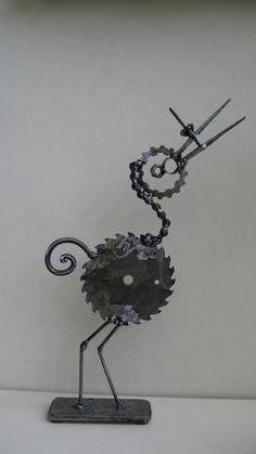Metal Art that Poppy could do!