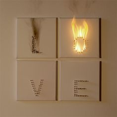 """love in progress"" by anatol knotek - and this is what love looks like, when you can't keep the fire burning?"