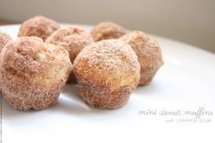 Donut Muffins with Cinnamon Sugar | Tasty Kitchen: A Happy Recipe Community!