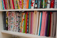 Mini Fabric Bolts and Some Studio Organization - Smashed Peas & Carrots. Comic book boards