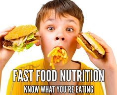 Nutrition facts for the most popular fast food restaurants in the USA. Nutrition information includes calories, carbs, weight watchers points and more