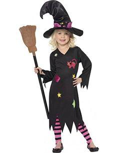 Hexen – Kostüm Halloween für Mädchen