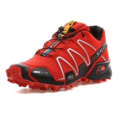 Salomon | SPEEDCROSS 3 CS Trailrunningschuh Herren | bright red-black-silver | http://www.mysportworld.de/salomon-speedcross-3-cs-trailrunningschuh-herren-bright-red-black-silver.html