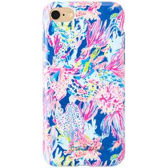 Lilly Pulitzer Lilly Pulitzer iPhone 7 Classic Cover - Sunken Treasure ($34) ❤ liked on Polyvore featuring accessories, tech accessories, apple iphone case, iphone cover case, lilly pulitzer, iphone cases and lilly pulitzer iphone case
