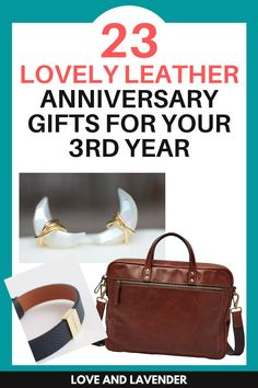 A 3rd anniversary can be an excellent opportunity to extend your post-wedding glow a little bit longer. Here are our top picks for the best leather anniversary gifts for your 3rd wedding anniversary. #leathergifts #weddinganniversary #anniversarygifts #weddinganniversarygifts #thirdweddinganniversary
