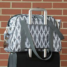 All in Tote! Great for so many things.  Perfect tote for travel and to use as a carry-on bag! Save only in the month of June! Thirty-One Gifts