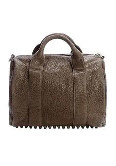 Alexa Studded Calfskin Leather Bag Olive for only $159