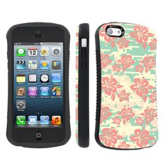 SkinGuardz Ultra Shock Absorbent Tough Grip Black Case for Apple iPhone 5C - Pink Hawaii Camo. Compatible with: For Apple iphone 5C. One Hybrid Engineer Ultra Shock Absorbent Tough Grip Case. Full ports access for camera lens/buttons/charging. Designed in USA. Phone Is Not Included.
