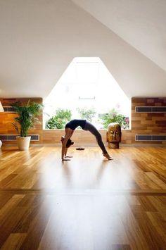 Yoga Rooms At Home yoga studio. like bringing plants in | yoga love | pinterest