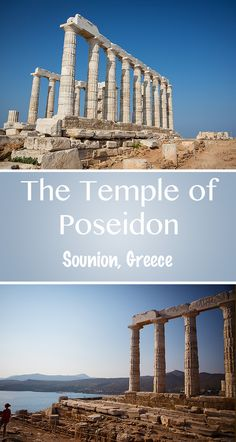 Just a day trip from Athens, the Temple of Poseidon is a must-see!