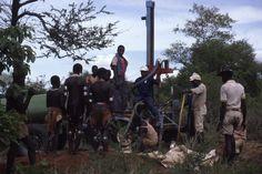 drilling for water in Banna territory, Gamo Gofa, Ethiopia