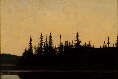 Tom Thomson — The Group of Seven Canadian Painters, Canadian Artists, Impressionist Landscape, Landscape Art, Bonsai, Emily Carr Paintings, Group Of Seven Paintings, Tom Thomson Paintings, National Art
