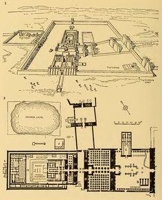 Ámosn-Ré templom, középbirodalom, kr.e. XVI-XII. sz. Karnak