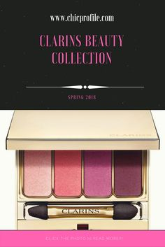 Clarins Spring 2018 Collection just launched and features an eyeshadow palette, two lip shades and a new range of SOS primers. via @Chicprofile