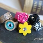 Duct tape rings - my girls would love this