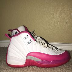 ed3cf33dff2c 24 Awesome pink and white jordans images