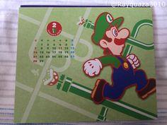 2016 Super Mario Calendar - February (Japanese Club Nintendo)