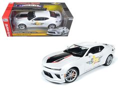 2017 Chevrolet Camaro SS Indy Pace Car 50th Anniversary Limited Edition to 1002pcs 1/18 Diecast Car Model by Autoworld