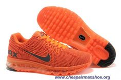 buy popular b305b 63a84 Mens Shoes Nike Air Max 2013 KPU Orange Black Sale Running Nike, Mens  Running,