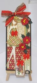 Dots Dashes Doodles & Dreams: Graphic 45 Nutcracker Sweet and Prima Doll Stamp Tag