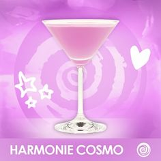 Make your a little more with a Harmonie Cosmo: 2 oz. Cointreau, Squeeze of Lime Hpnotiq Drinks, Alcoholic Drinks, Beverages, Cocktails, Drinks Alcohol Recipes, Drink Recipes, City Party, Citrus Vodka, Thirsty Thursday