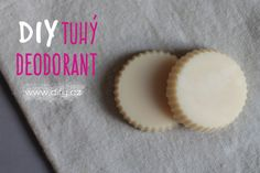Recept na DIY tuhý deodorant Deodorant, Homemade, Desserts, Blog, Diy, Home, Tailgate Desserts, Deserts, Home Made